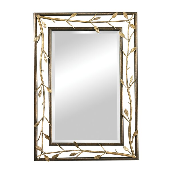 Barger Branch Accent Mirror by Fleur De Lis Living