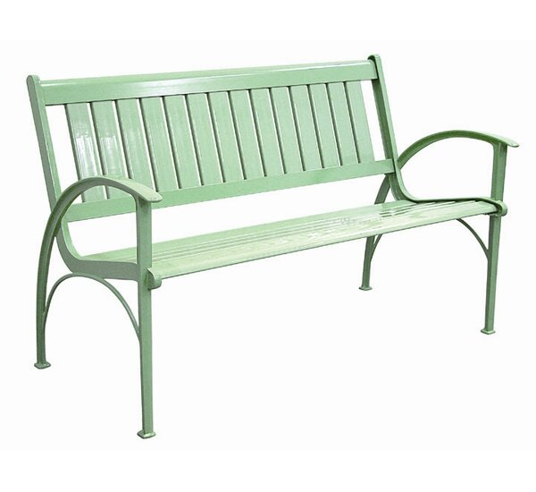 Layla Cast Aluminum Park Bench by Latitude Run