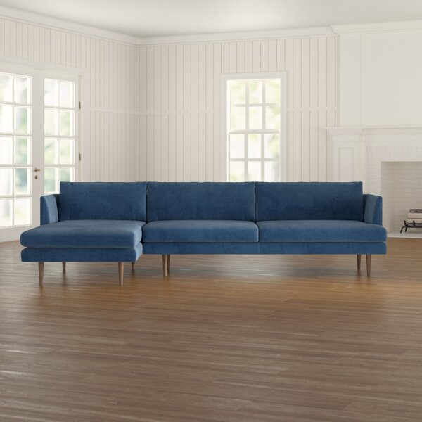Stay On Trend This Celia Velvet Sectional by Modern Rustic Interiors by Modern Rustic Interiors