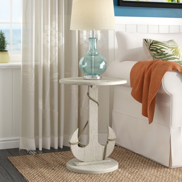 Dudek End Table by Beachcrest Home