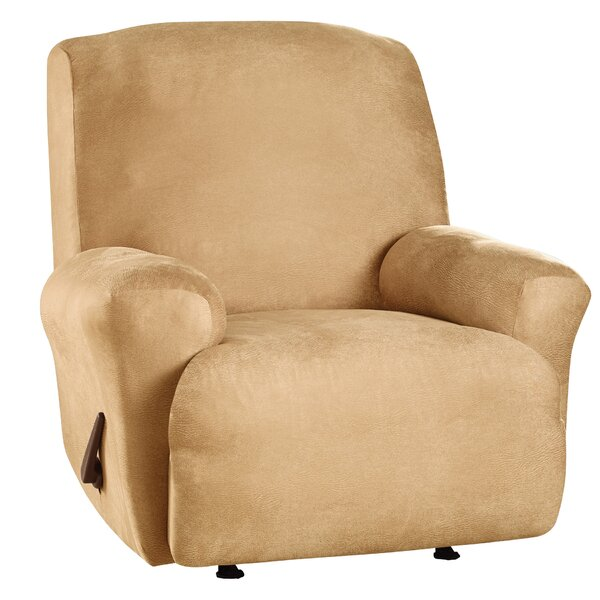 Stretch Leather T-Cushion Recliner Slipcover by Sure Fit