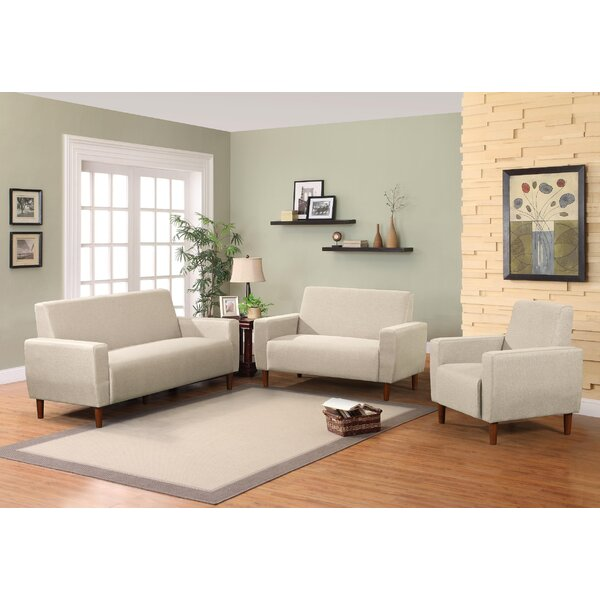 Hendina 3 Piece Living Room Set by Union Rustic