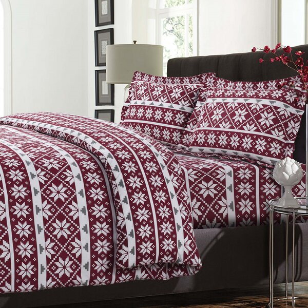 Oslo 3 Piece Reversible Duvet Cover Set by Tribeca