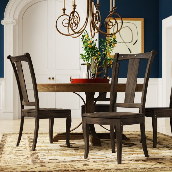 Vintage West Solid Wood Dining Chair (Set of 2) by Hooker Furniture Hooker Furniture