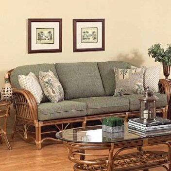 Antigua Sofa by Boca Rattan