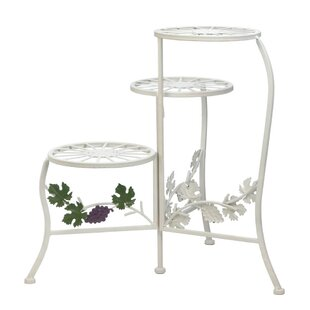 Compare prices Filbert Grapevine Multi-Tiered Plant Stand By August Grove