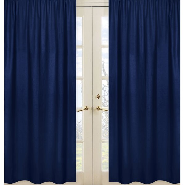 Stripe Curtain Panels (Set of 2) by Sweet Jojo Designs
