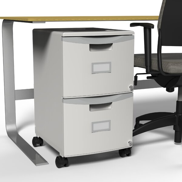 @ 2-Drawer Mobile Vertical Filing Cabinet by Storex| #$155.95!