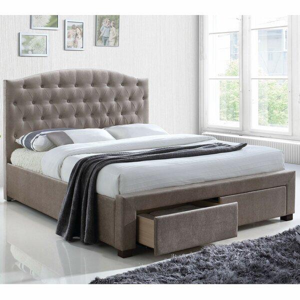 Cozumel Upholstered Storage Platform Bed by Red Barrel Studio