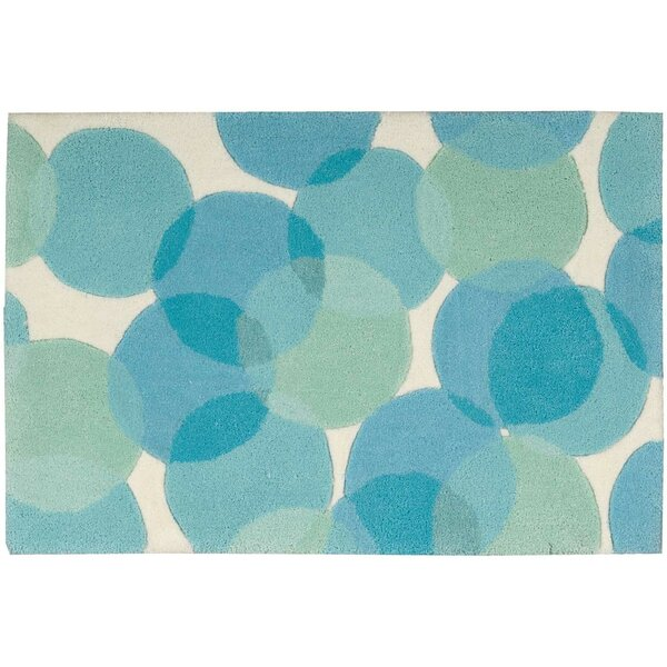 Moultry Blue Area Rug by Ebern Designs