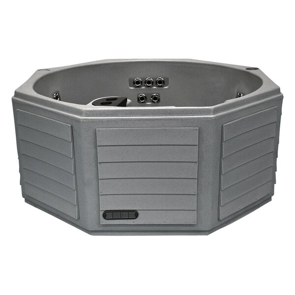 6-Person 14 Jet Plug and Play Spa with LED Light by Laguna Hot Tubs