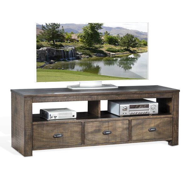 Lulu Solid Wood TV Stand For TVs Up To 70