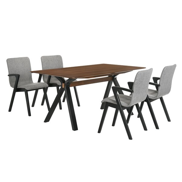 Schoonover 5 Piece Breakfast Nook Dining Set by Corrigan Studio Corrigan Studio