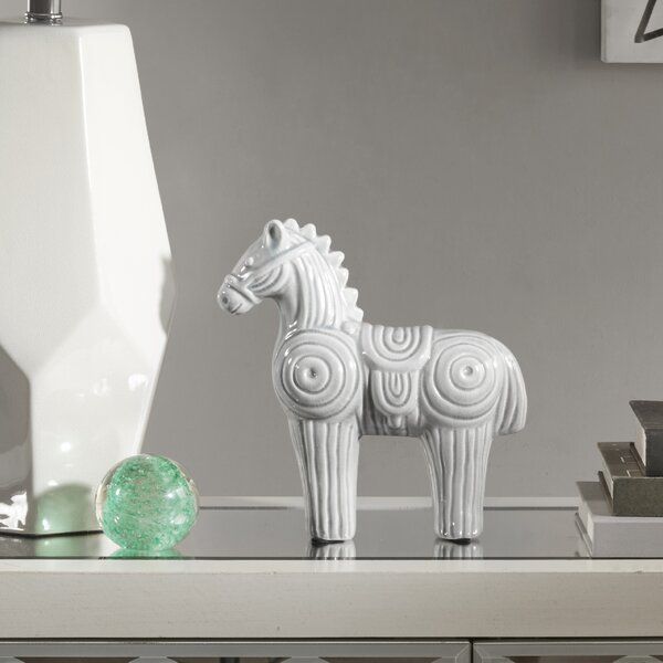 Olivarria Horse Ceramic Decor Figurine by Union Rustic