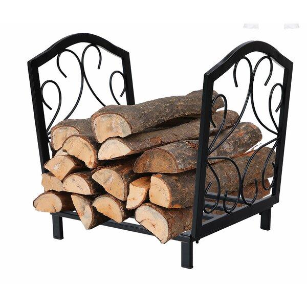 Decorative Indoor/Outdoor Firewood Steel Log Rack By PHI VILLA