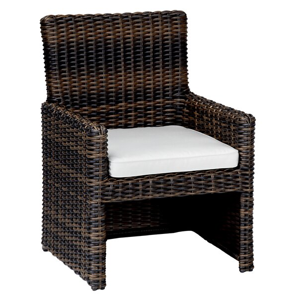 Montecito Dining Arm Chair with Cushion by Sunset West