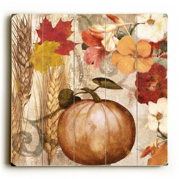 Harvest Graphic Art Print Multi-Piece Image on Wood by Artehouse LLC