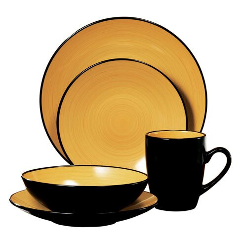 Kata 16 Piece Dinnerware Set, Service for 4 by Thomson Pottery