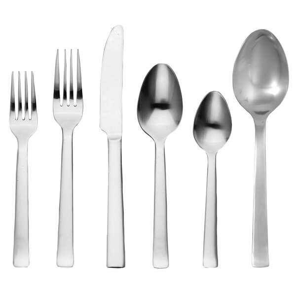 Norse 42 Piece Stainless Flatware Set by Ginkgo