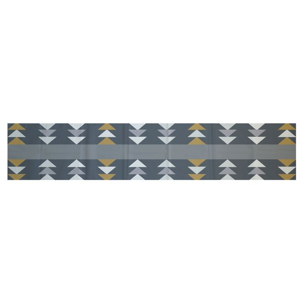 Atkinson Geometric Print Table Runner by Ivy Bronx