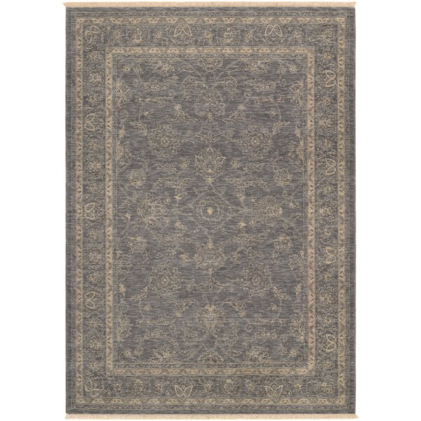 Nickalos Dusty Blue/Beige Area Rug by Bloomsbury Market