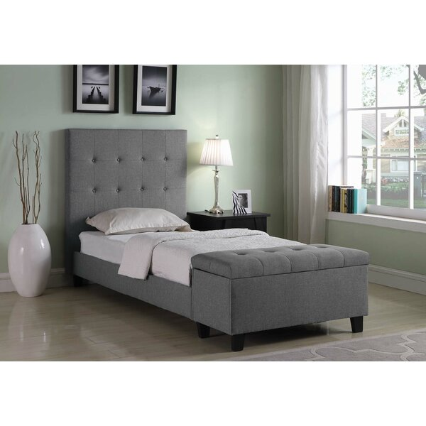 Knutsford Twin Panel Bed by Harriet Bee