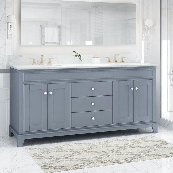 Larosa 73 Double Bathroom Vanity Set