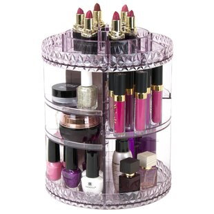 Order Askins Rotating Cosmetic Organizer By Ebern Designs