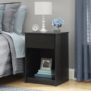 Bowdoin Hill 1 Drawer Nightstand by Andover Mills