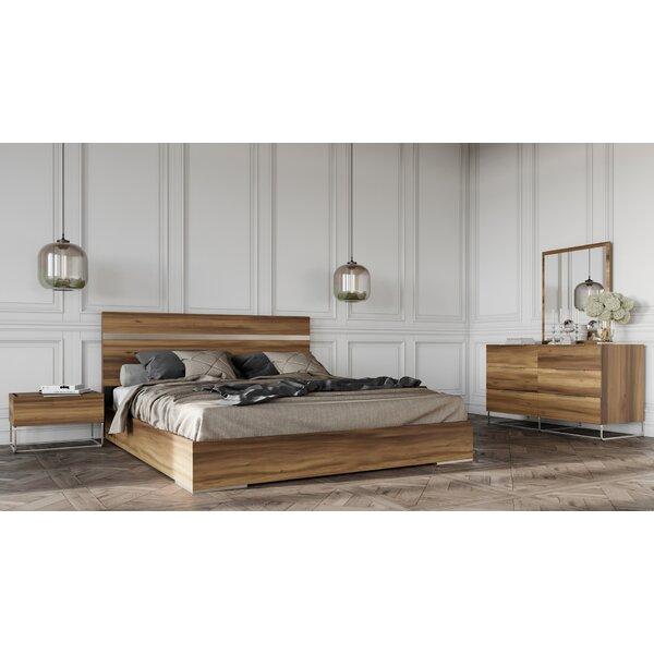 Kingon Platform 5 Piece Bedroom Set by Brayden Studio