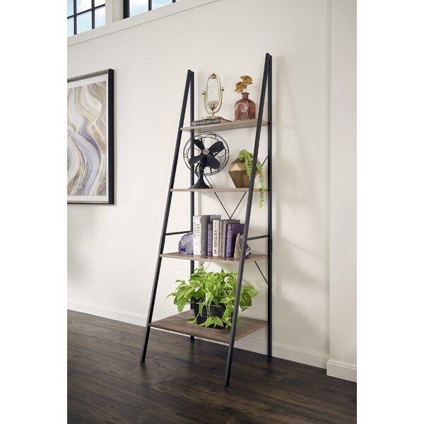 Almanzar Ladder Bookcase By Mercury Row.