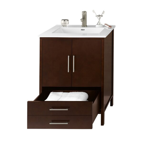 Juno 25 Single Bathroom Vanity Set by RonbowJuno 25 Single Bathroom Vanity Set by Ronbow