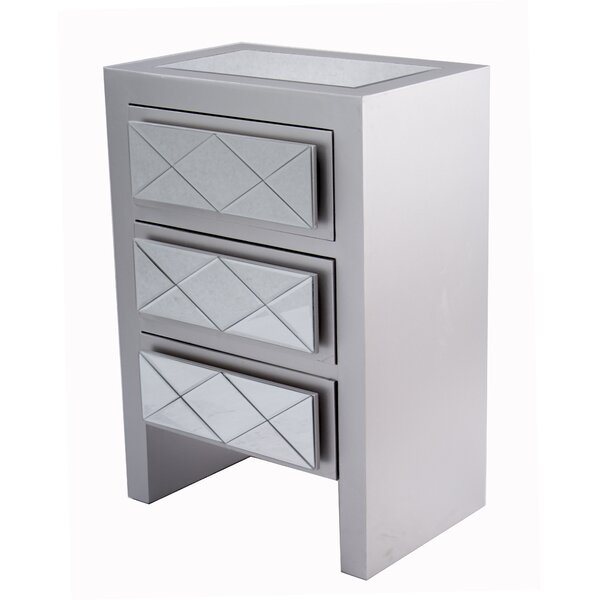 Windmere 3 Drawer Accent Chest by House of Hampton