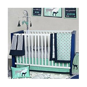 Emma Aztec 10 Piece Crib Bedding Set