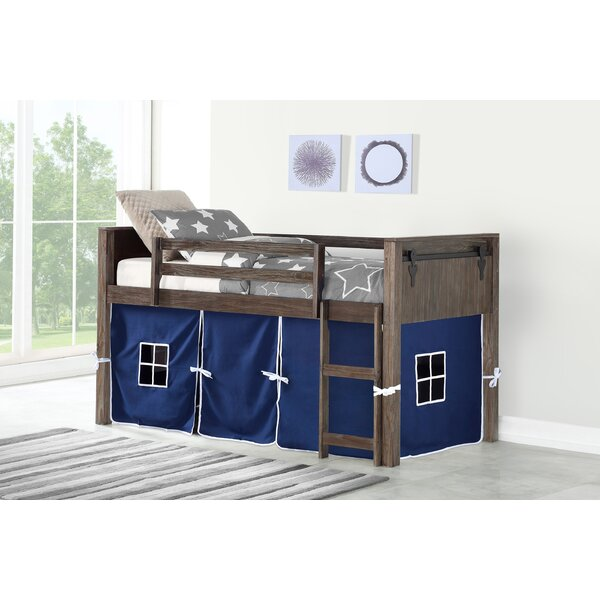 Ivanna Twin Loft Bed by Harriet Bee