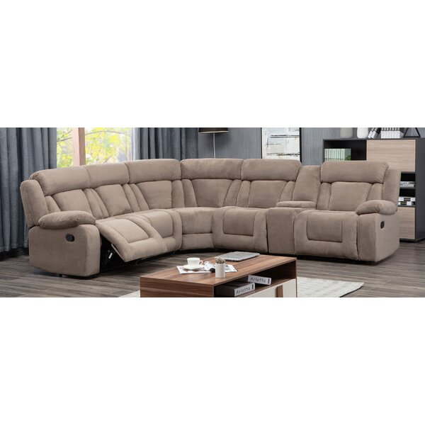 Herald Symmetrical Square Symmetrical Reclining Sectional