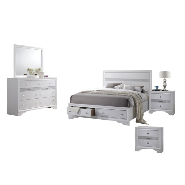 Smither Standard 5 Piece Bedroom Set by House of Hampton