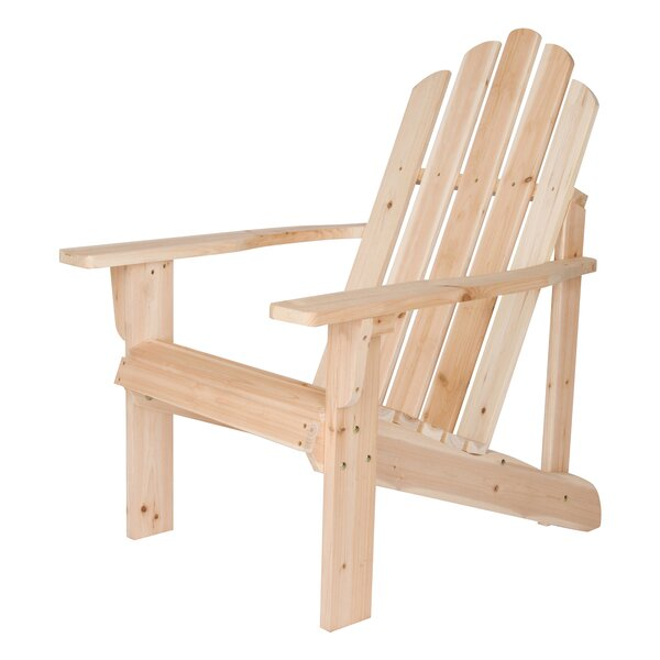 Marina Wood Adirondack Chair by Shine Company Inc.