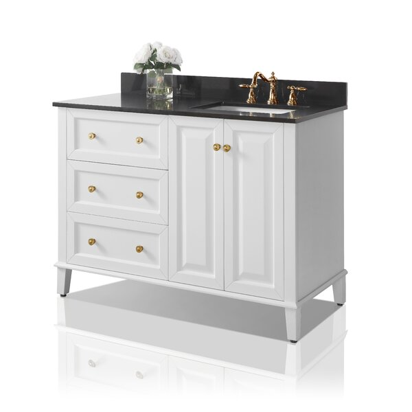 Fugate 48 Single Bathroom Vanity Set with Mirror by House of Hampton