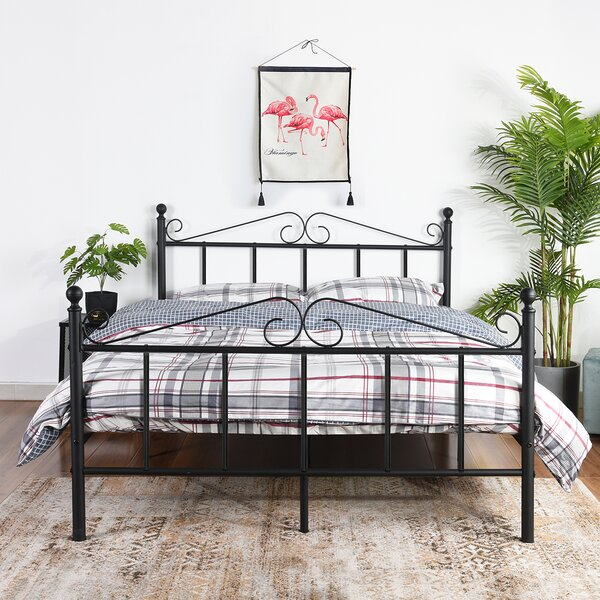 Metal Full Platform Bed by Red Barrel Studio