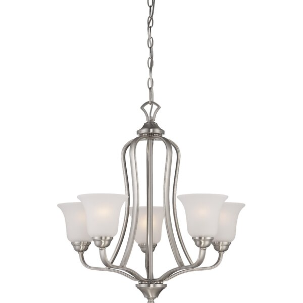Hardin 5-Light Shaded Classic / Traditional Chandelier by Charlton Home Charlton Home
