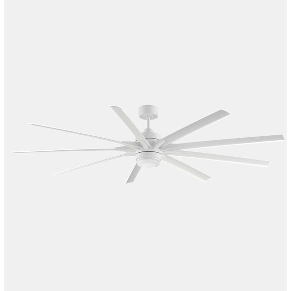 84 Odyn 9 Blade LED Ceiling Fan with Remote by Fan