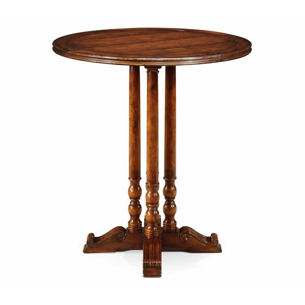 Round Planked Dining Table by Jonathan Charles Fine Furniture