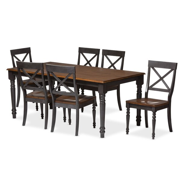 Santucci 7 Piece Dining Set by Latitude Run