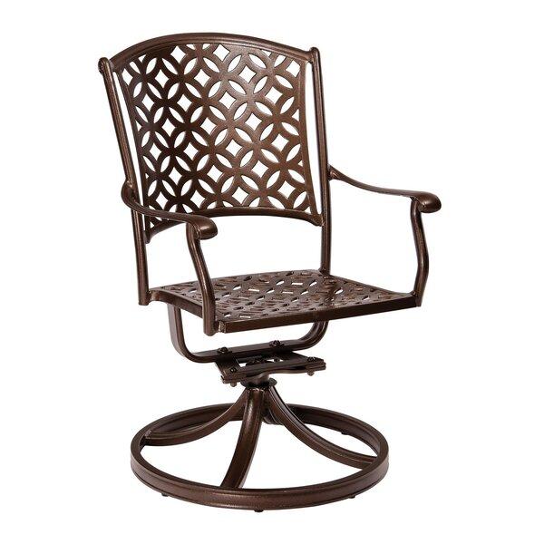 Casa Swivel Patio Dining Chair by Woodard