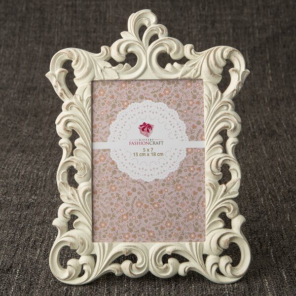 Sheniece Metallic Baroque Picture Frame by Ophelia & Co.