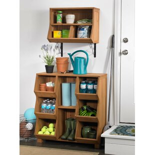 Wall Cubby with Brackets by Atlantic Outdoor