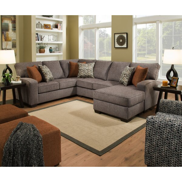 Top Quality Henton Left Hand Facing Sectional by Alcott Hill by Alcott Hill