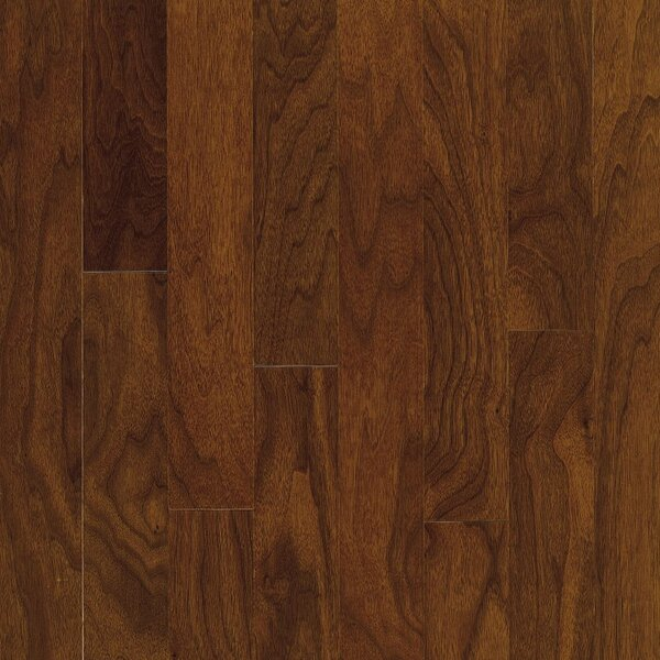 Turlington 3 Engineered Walnut Hardwood Flooring in Autumn Brown by Bruce Flooring