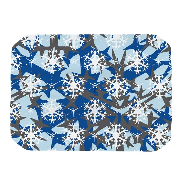 Ice Topography Placemat by KESS InHouse